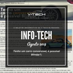 Agosto 2018 – Tenho um carro conversível, é possível Blindar?