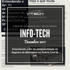 Dezembro 2017 – Entendendo o fim da obrigatoriedade do Registro de blindagem na Polícia Civil de SP