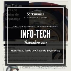 Novembro 2017 – Porque usar pneus Run Flat ao invés das Cintas de Segurança em veículos Blindados ?
