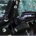 Vítima usa carro blindado para fugir de bandidos em SP