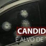 Candidato a vereador sofre atentado e é salvo pela blindagem